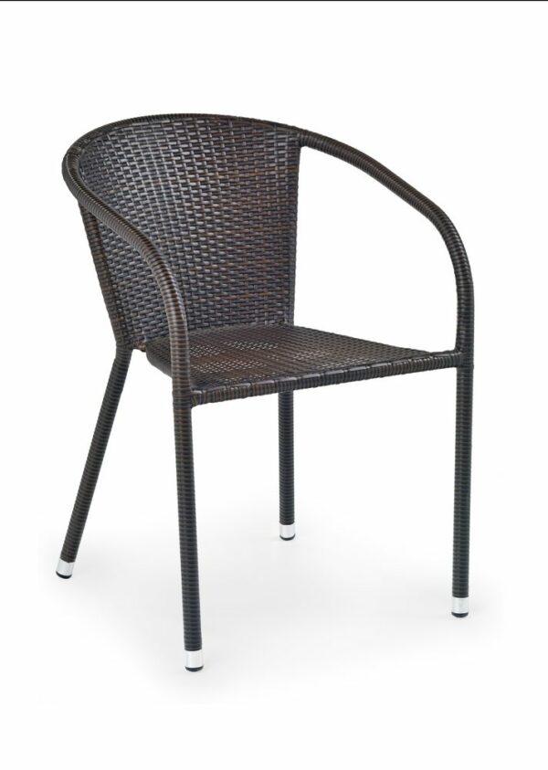 Halmar MIDAS chair color: dark brown