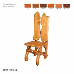 Smrková židle MO239 Tik