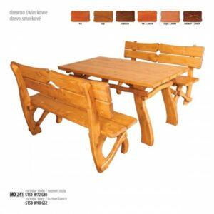 Zahradní dřevěný set MO241 Tik